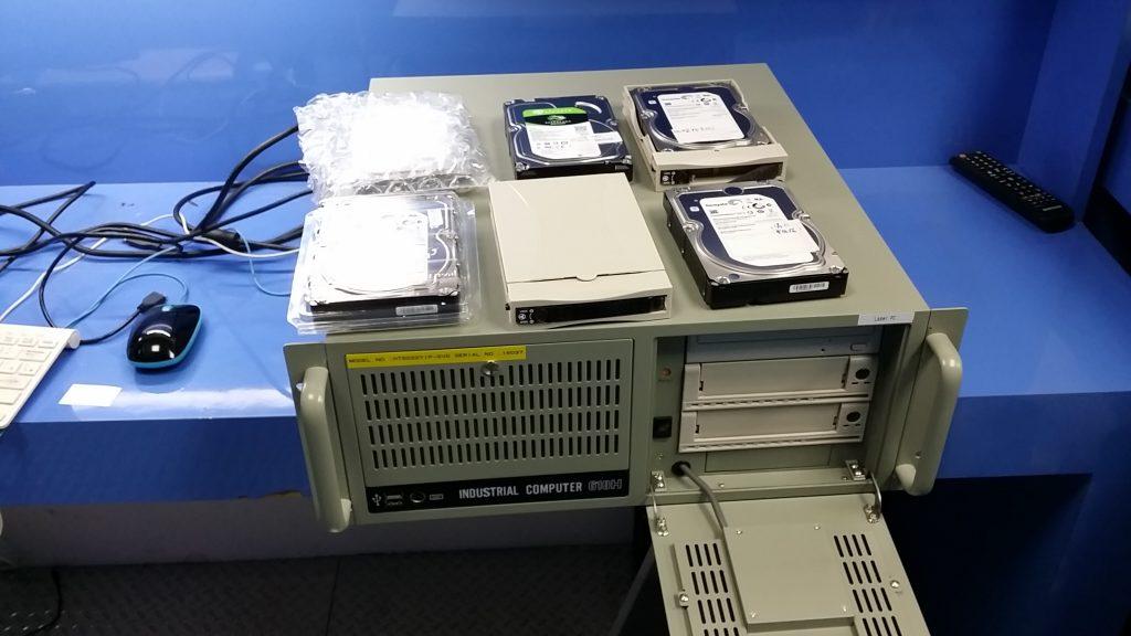 高雄路竹科技園區群創科技LCM廠生產工作站伺服器損壞資料救援