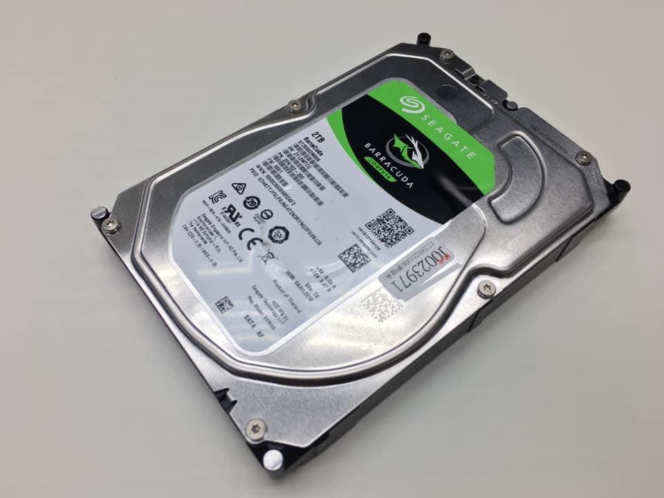 硬碟使用時的注意事項
