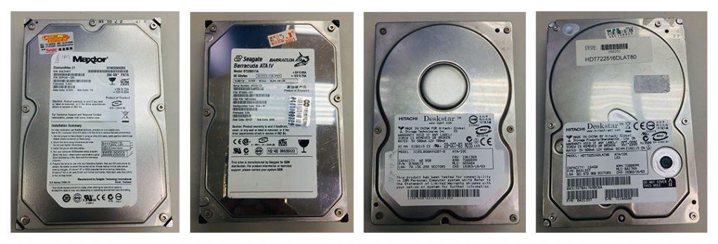 IDE介面傳統硬碟資料救援-成功案例